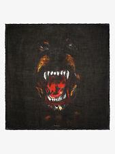 GIVENCHY  Rottweiler-Print Cashmere-Blend Scarf 118cm X 118cm