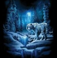 snow tiger youth t-shirt boy girl beautiful school shirt adult s m US sz>
