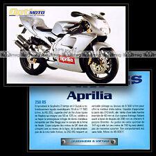APRILIA RS 250 - Sport Bike Fiche Moto #OM1.32