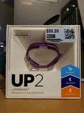 UP2 Jawbone Activity Sleep Tracker Orchid Circle Purple Lightweight NIOB