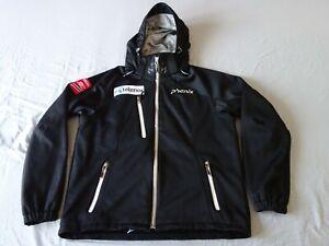 phenix norway norge alpine ski team softshell jacket black