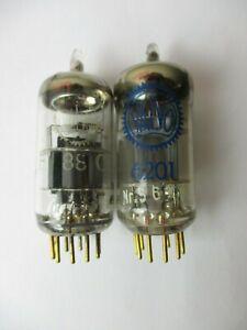 2 x E88CC Valvo Röhren NOS für Röhrenverstärker, geprüfter Zustand