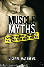 Muscle Myths Bodybuilding Fitness Training Shredded Book Health Weight Strength