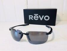 REVO RE4059 01 GY DESCEND N Shiny Black w/Graphite POLARIZED Lenses Sunglasses