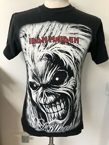 Iron Maiden Vintage Killers Major Made In USA Retro Rock T Shirt Size Small