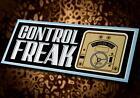 Vintage Style CONTROL FREAK • Aurora HO Slot Car Controller • Sticker • Decal