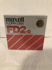 "Maxwell 8"" floppy disk FD•XD•M•1100 Sealed"