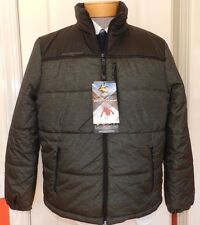 MENS green winter padded COAT JACKET = zeroXposur = SIZE SMALL = new