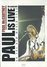 "PAUL MC CARTNEY: DVD LIVE ""ON THE NEW WORLD TOUR"""