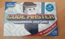 CODE MASTER PROGRAMMING LOGIC GAME BY THINKFUN - 60 LEVELS - NEW/SEALED