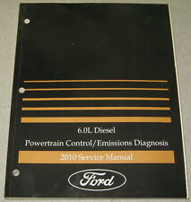 2010 Ford 6.0L Diesel E-Series Powertrain Control Emissions Diagnosis  Manual