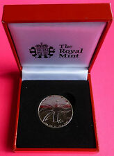 2012 ROYAL MINT QUEEN'S DIAMOND JUBILEE MEDAL BOXED