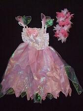 Robe FEE CLOCHETTE  ROSE + couronne - 3/4 ans - NEUVE