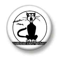 Singing Cat 1 Inch / 25mm Pin Button Badge Cats Kittens Miaow Crazy Lady Cute