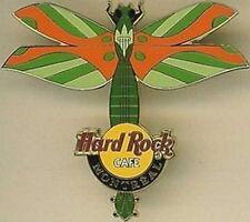 Hard Rock Cafe MONTREAL 2004 DRAGONFLY GUITAR Series PIN - HRC Catalog #24019
