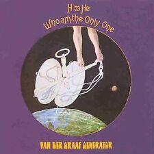 VAN DER GRAAF GENERATOR - H TO HE WHO AM THE ONLY ONE - CD - VIRGIN REC'S - 1970