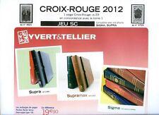 JEU FRANCE  SUPRA YVERT CROIX ROUGE 2012