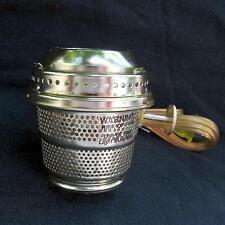 Brass Electric Burner fit Aladdin oil lamps / Alladin C replica,fit A,B,C,23,etc