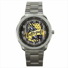 Harry Potter Hufflepuff Quality Sport Metal Wrist Watch Gift