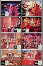 THE TEN COMMANDMENTS orig lobby card set CECIL B. DEMILLE 11x14 movie posters