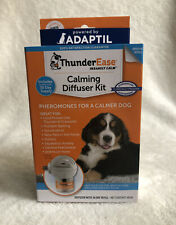ThunderEase Dog Calming Pheromone Diffuser Kit - Relieve Separation Anxiety