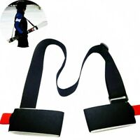 Einstellbar Nylon Schultergurt Tragegurt Strap Tape Band Ski Snowboardfahren ~