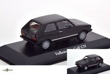 Volkswagen Golf GTI 1983 Black 'maxichamps' Edition 1 43 Minichamps 940055172