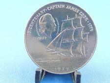 SAMOA 1 TALA 1979 DOllar Captain James Cook Schiff    (K15)
