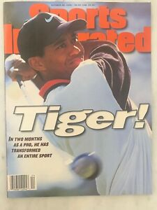Sports Illustrated Tiger Woods October 28 1996 Tiger's First SI Cover No Label