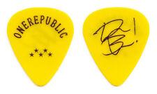 OneRepublic Drew Brown Signature Yellow Guitar Pick - 2017 Tour