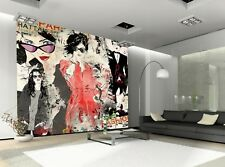 Modern Fashion Photo Wallpaper Wall Mural DECOR Paper Poster Wall art Free Paste
