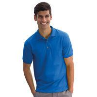 Gildan Mens Active DryBlend Jersey Knit Moisture Wicking Polo T-Shirts Tops New