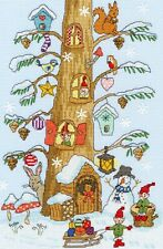 Bothy Threads ~ Counted Cross Stitch Kit ~ Santa's Little Helpers ~ XX15