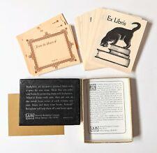 Vtg Bookplates, Cat Ex Libris + More, Antioch Bookplate Company USA