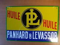 PB5N PLAQUE PUB tolée age d'or Automobile n°40 : 19*28 cm PANHARD LEVASSOR