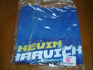 KEVIN HARVICK BUSCH BEER #4 CONTENDER 2-sided Print CFS T-Shirt Size Medium