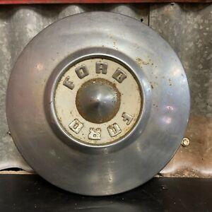 FORD Vintage Chrome Hub Cap