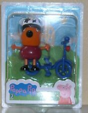 "PEPPA PIG 2"" ACTION  FIGURES SINGLE PACK FREDDY FOX BIKE RIDING"