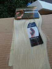 24'' WRAP ON CLIP IN BLOND STRAIGHT PONYTAIL HAIRPIECES SYNTHETIC HAIR EXTENSION