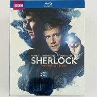 Sherlock: The Complete Series Blu-ray Box Set - Seasons 1-4 + Abominable Bride