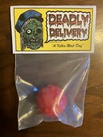 Deadly Delivery 💀📦 Poison Apple 🍎 Retroband Zectron Resin Minifigure RARE!
