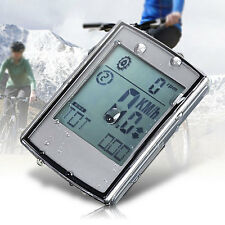 2-in-1 Wireless LCD Bicycle Cycling Computer + Cadence Heart Rate Monitor Strap