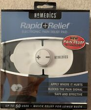 Homesick Rapid + Relief Electronic Pain Relief Pad New