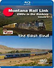 Montana Rail Link EMDs in the Rockies Volume 1 BLU-RAY Cvision MRL Helena