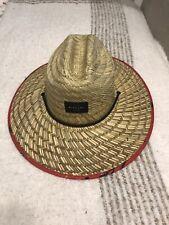 Ripcurl Red Sunny Days Straw Hat