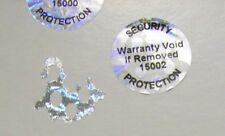 500 Custom Pond 20 mm Round Hologram Label Sticker Protection Seals