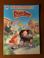 Who Framed Roger Rabbit A Big Coloring Activity Book