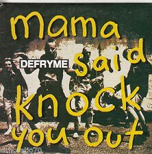 DEFRYME Mama Said Knock You Out CD Single / Card Sleeve