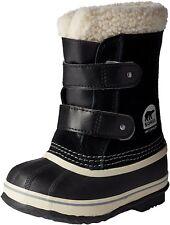 Sorel Childrens 1964 Pac Strap Snow Boot, Black - 12 M US Little Kid