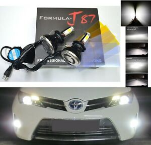LED Kit G5 80W H7 5000K White Two Bulbs Fog Light Replacement Lamp Upgrade Stock